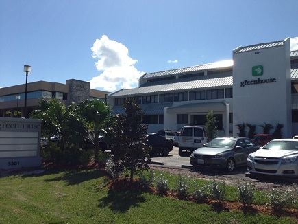 Easy Passports & Visas is headquartered in  the Greenhouse Building in Boca Raton, FL
